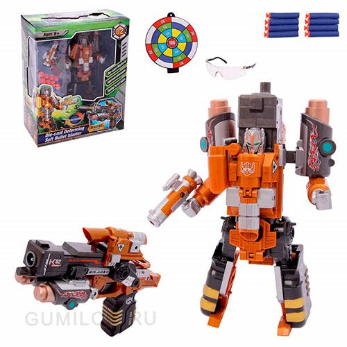 Робот-бластер Kaineng Armored X'man