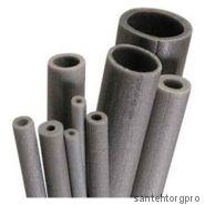 Трубка вспененный полиэтилен НПЭ Т 54/9 L=2м серый Порилекс