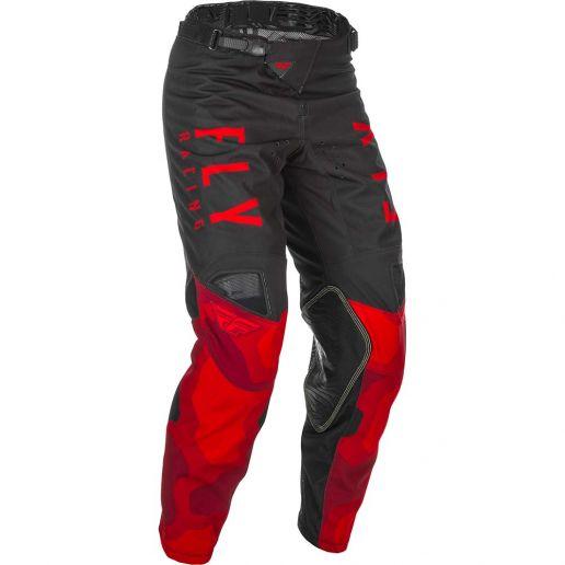 Fly Racing 2021 Kinetic K221 Red/Black штаны