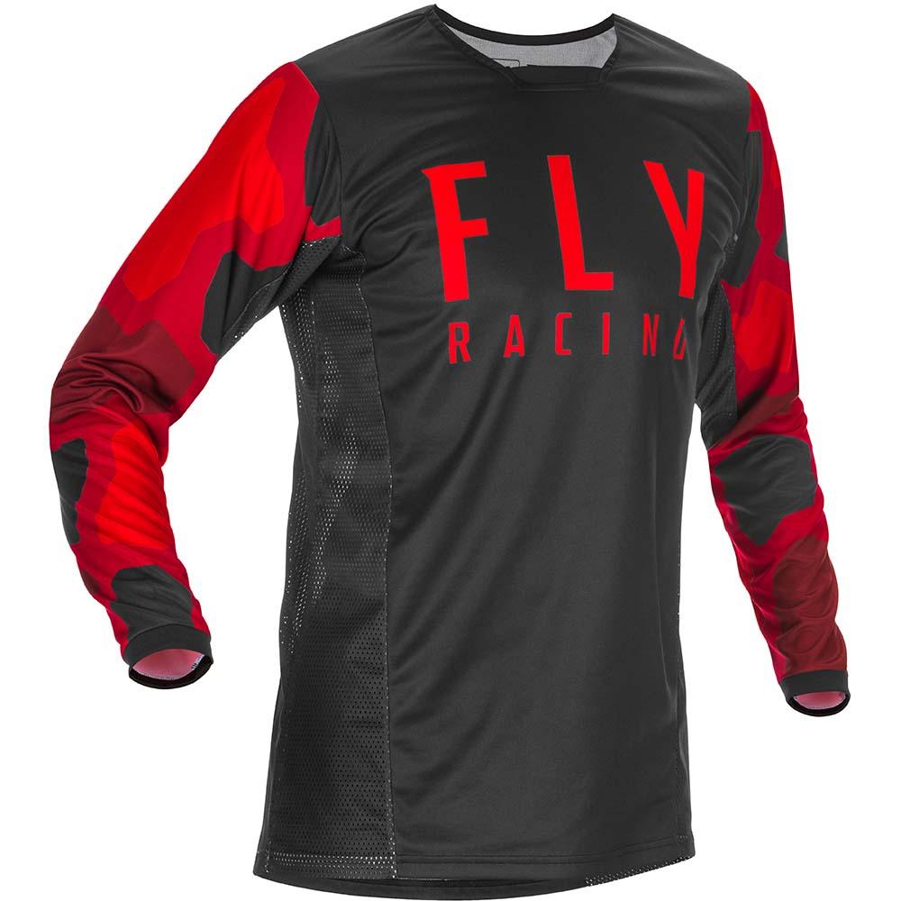 Fly Racing 2021 Kinetic K221 Red/Black джерси