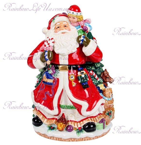 """Конфетница новогодняя """"Санта Клаус"""""""