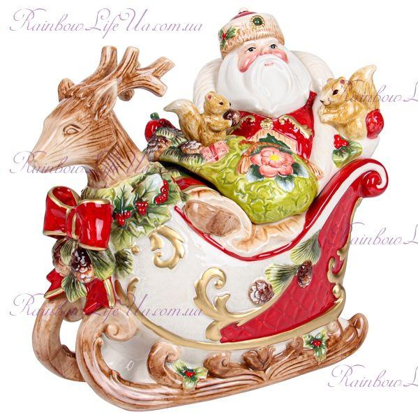 """Конфетница новогодняя """"Дед Мороз"""""""
