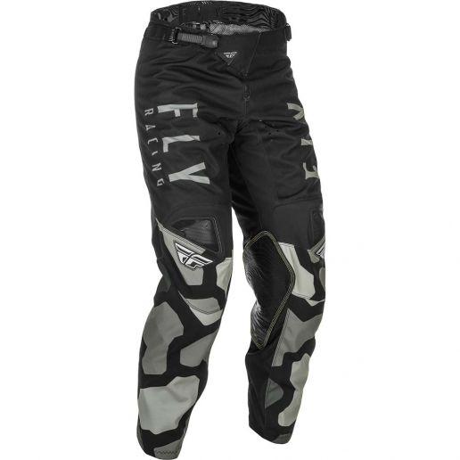 Fly Racing 2021 Kinetic K221 Black/Grey штаны