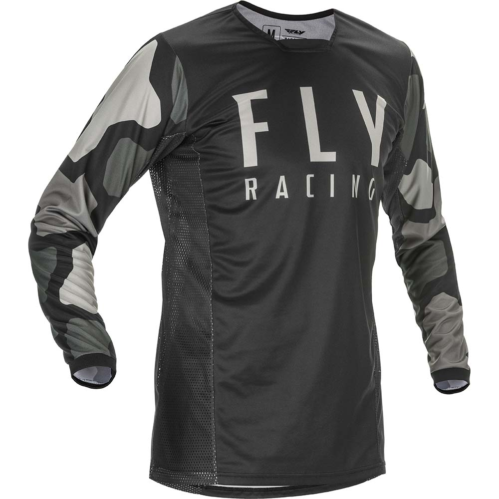 Fly Racing 2021 Kinetic K221 Black/Grey джерси