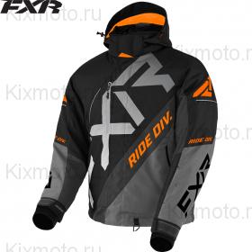 Куртка FXR CX, Черно-серо-оранжевая мод. 2021
