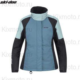 Куртка женская Ski-Doo Holeshot, Голубая мод. 2021