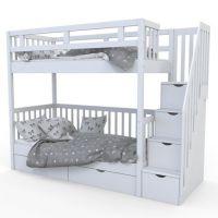 Кровать двухъярусная Лейла №10 с ящиками