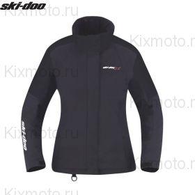 Куртка женская Ski-Doo Holeshot, Черная мод. 2021