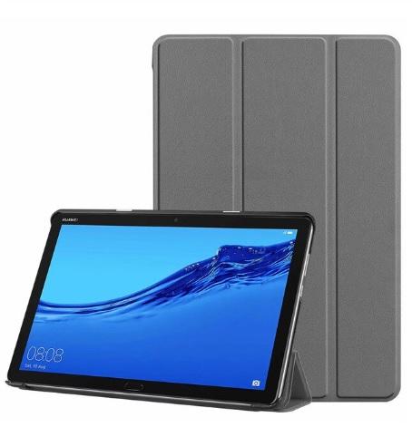 Чехол SMARTBOOK для планшета Huawei MediaPad M5 10 Lite BAH2-L09/W19 DL-AL09 (серый)