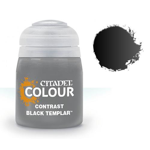 Контрастная краска Black Templar 29-38