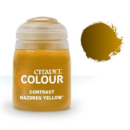 Контрастная краска Nazdreg Yellow 29-21