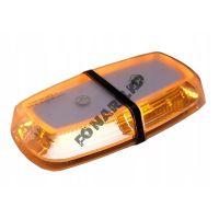 Оранжевая проблесковая мини балка FL112O-310
