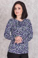 Блуза женская арт.0143-26 сиреневая, масло с начесом