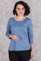 Джемпер женский арт.0277-16 голубой, сандра