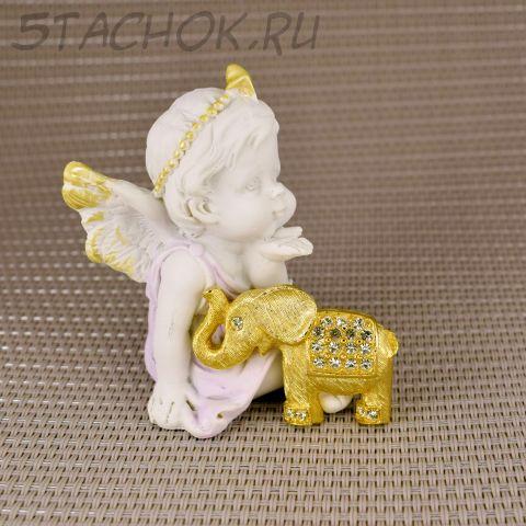 """Брошь """"Слоненок"""" (США)"""