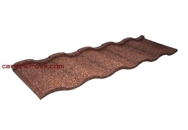 Композитная черепица Grand Line Roman ( какао)