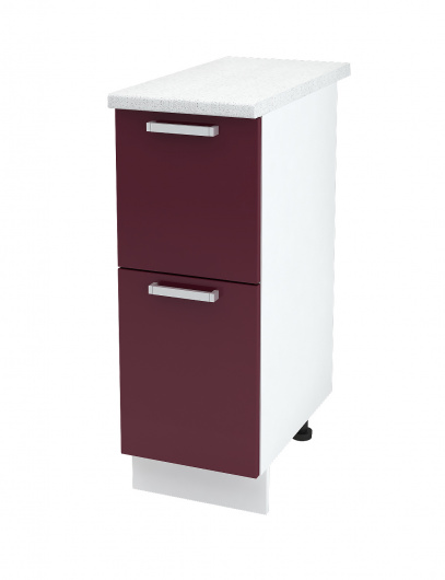 Шкаф нижний с двумя ящиками Линда ШН2Я 300