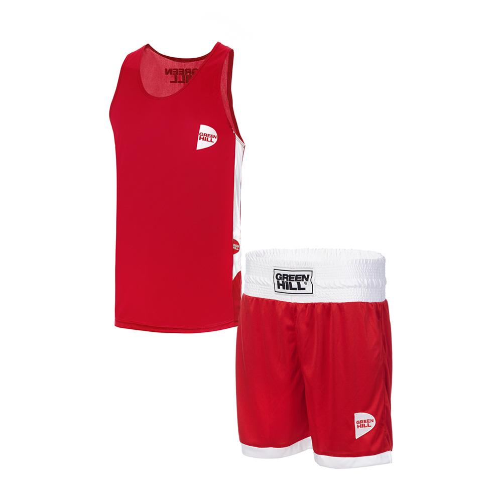 Форма боксёрская Green Hill INTERLOCK BSI-3805 красная
