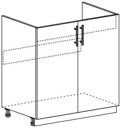 Шкаф нижний 2-х дверный под мойку Линда ШНМ 800