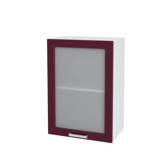 Шкаф верхний со стеклом Линда ШВС 500