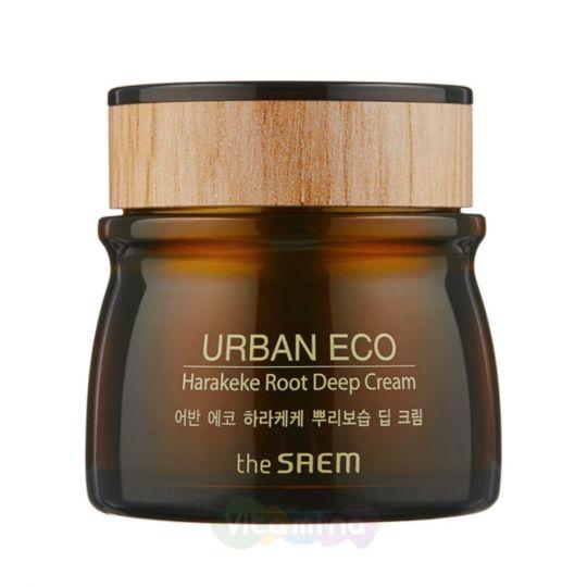 The Saem Глубоко увлажняющий крем для лица с экстрактом новозеландского льна Urban Eco Harakeke Root Deep Cream
