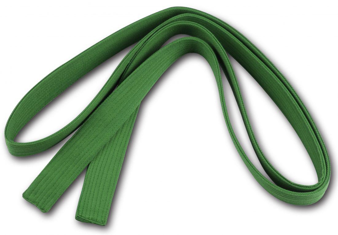 Пояс для кимоно RA-009 2.6м зеленый