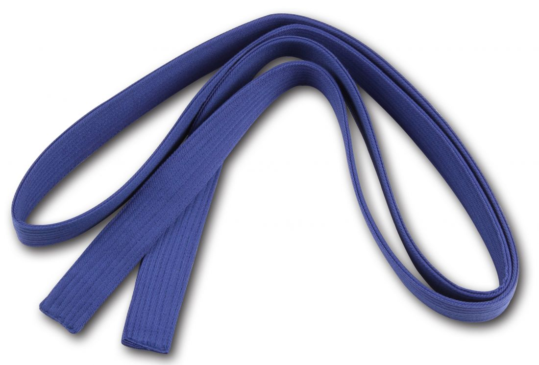 Пояс для кимоно RA-009 2.6м синий