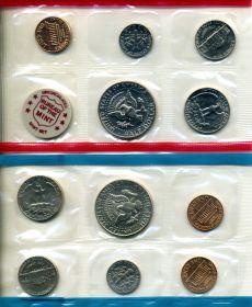 США годовой набор 1972