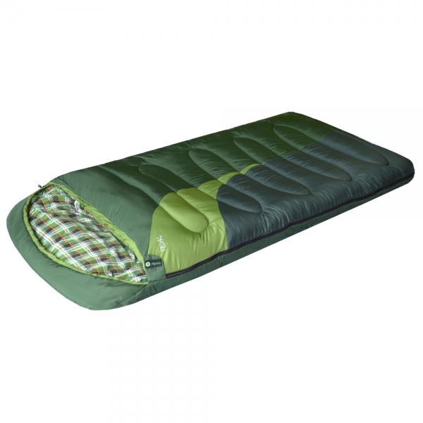 Спальный мешок PRIVAL Берлога_2 L (220х110см, капюшон, шервисин, 450 гр/м2, левый) 0 до -15