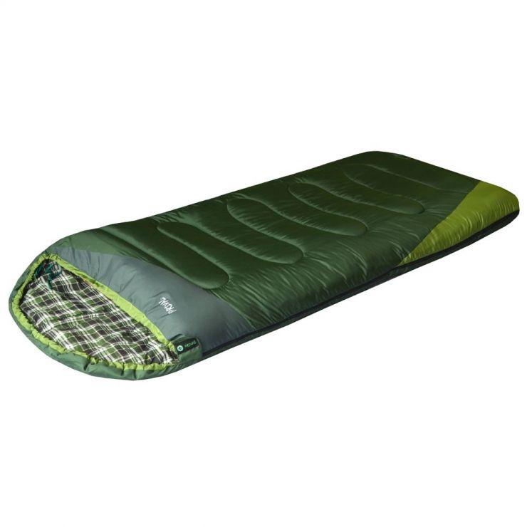 Спальный мешок PRIVAL Степной XL (220х95 см, файберпласт 300 гр/м2., левый) +10 до -5