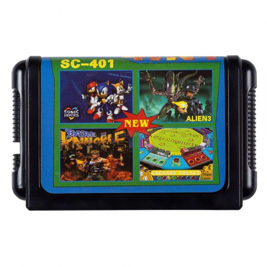 16 bit картридж 4 в 1 SC-401