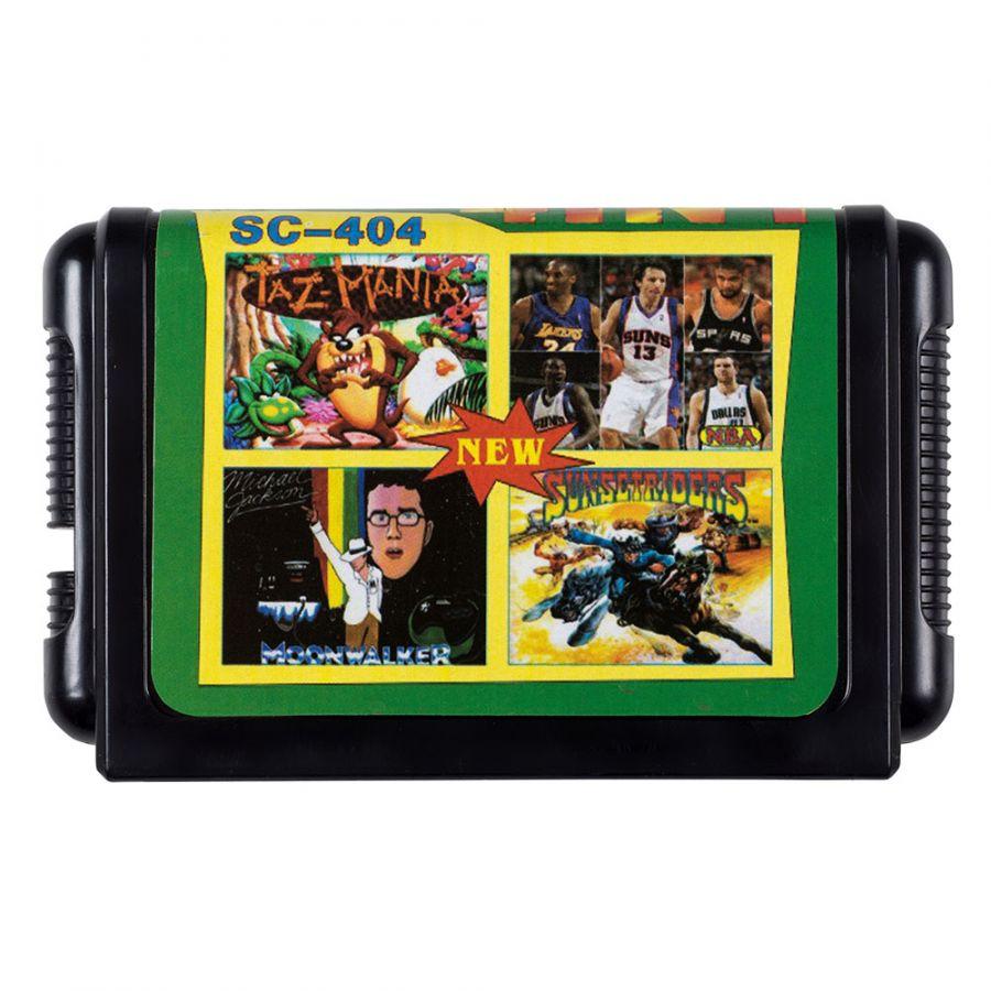 16 bit картридж 4 в 1 SC-404