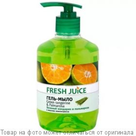 "Fresh Juice Гель-мыло ""Grenn Tangereine&Palmarosa"" 460мл дозатор, шт"