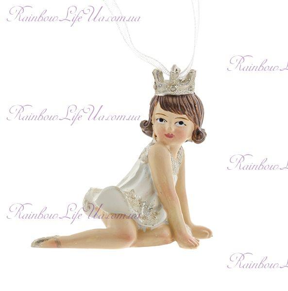"""Новогодняя подвеска """"Принцесса"""""""