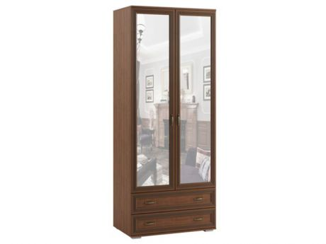 Шкаф двухстворчатый с зеркалом ЛШ-23