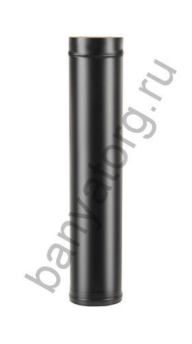 Сэндвич-труба BLACK (AISI 430/0,8мм) L-1м