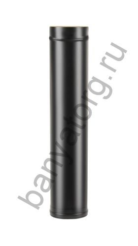 Труба BLACK (AISI 430/0,8мм) L-1м