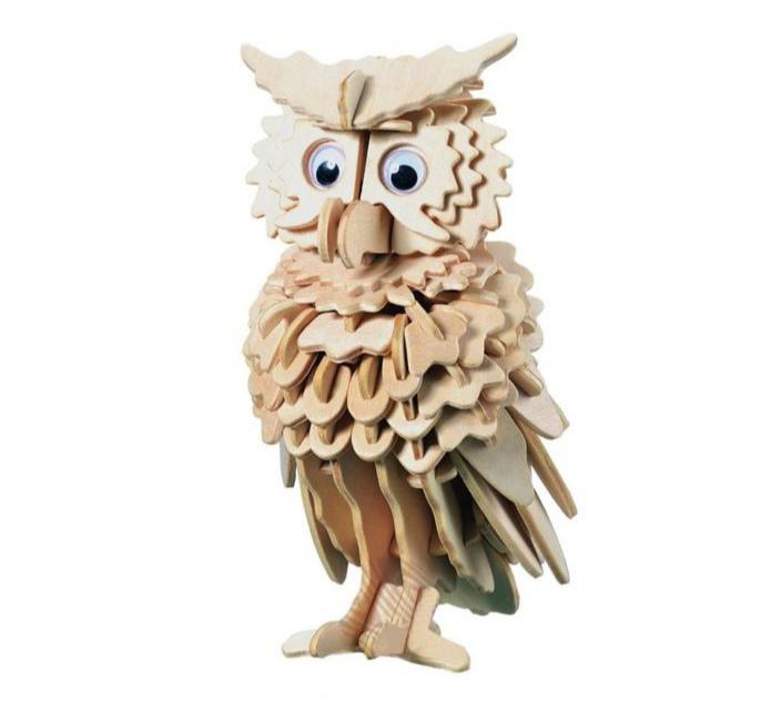 Сборная деревянная модель «Сова»