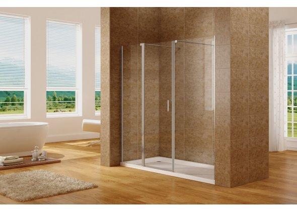 Душевая дверь Aquanet Cinetic AE12-N-120H190U-CT 1200, прозрачное стекло