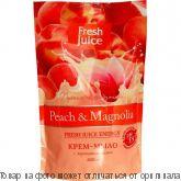 "Fresh Juice Крем-мыло ""Peach"" (персик) 460мл дой-пак, шт"