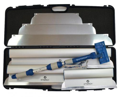 Набор шпателей STORCH в контейнере Set Flexogrip AluSTAR im Koffer