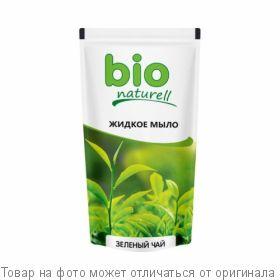 """BioNaturell Жидкое мыло для рук """"Зеленый чай"""" 500мл дой-пак, шт"""