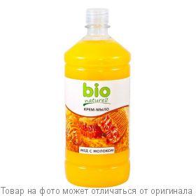 """BioNaturell Крем-мыло """"Мед с молоком"""" 1000мл (запаска), шт"""