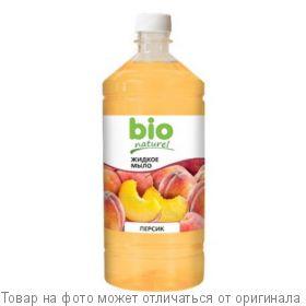 """BioNaturell Крем-мыло """"Персик"""" 1000мл (запаска), шт"""