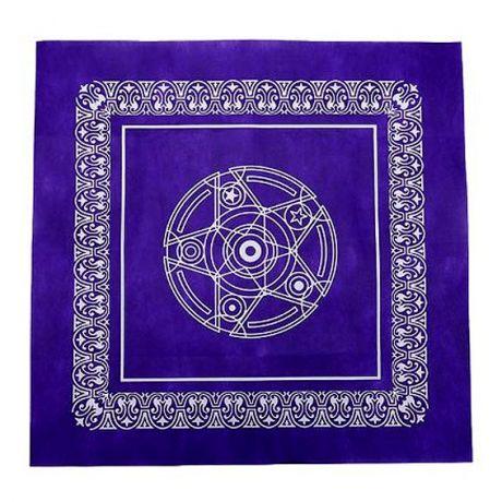Скатерть для гадания на Таро, фиолетовая