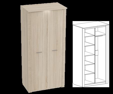 Элана Шкаф 2х дверный (глубина 645)