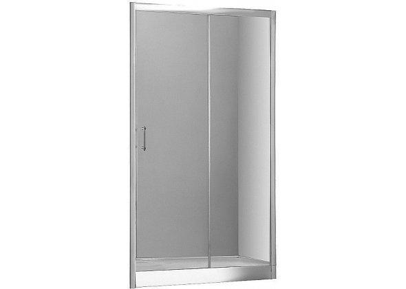 Душевая дверь Aquanet Alfa NAA6121 140, прозрачное стекло