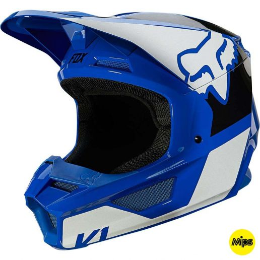 Fox 2021 V1 Revn Blue (MIPS) шлем внедорожный