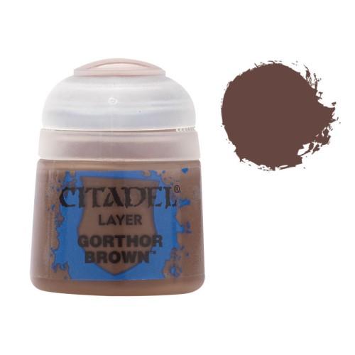 Стандартная краска Gorthor Brown 22-47