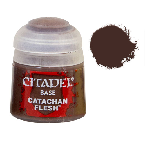 Базовая краска Catachan Fleshtone 21-50